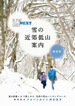 アルペンガイドNEXT 雪の近郊低山案内 関東版-電子書籍