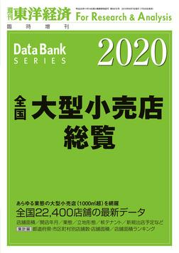 全国大型小売店総覧 2020年版-電子書籍