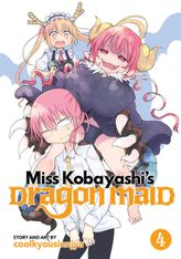 Miss Kobayashi's Dragon Maid Vol. 04