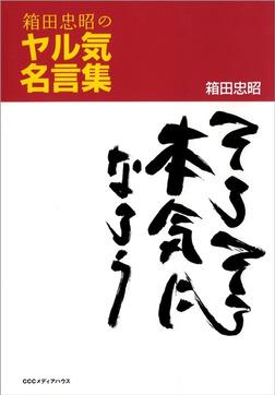 箱田忠昭のヤル気名言集 そろそろ本気になろう-電子書籍