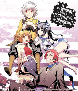 Is It Wrong to Try to Pick Up Girls in a Dungeon?, Vol. 1 (manga): Bookshelf Skin [Bonus Item]