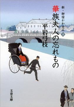 新・御宿かわせみ2 華族夫人の忘れもの-電子書籍