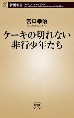 ケーキの切れない非行少年たち(新潮新書)-電子書籍