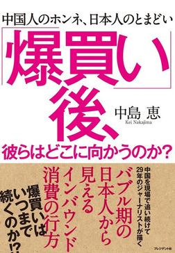 「爆買い」後、彼らはどこに向かうのか?―中国人のホンネ、日本人のとまどい-電子書籍