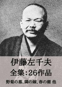 伊藤左千夫 全集26作品:野菊の墓、隣の嫁、春の潮 他
