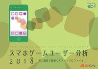 スマホゲームユーザー分析2018 1万人調査で紐解くアプリ・プロファイル