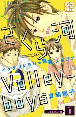 さくら河 Volley―boys プチデザ(1)-電子書籍