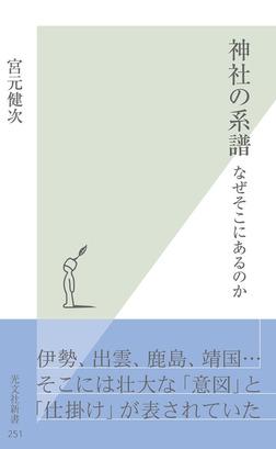 神社の系譜~なぜそこにあるのか~-電子書籍