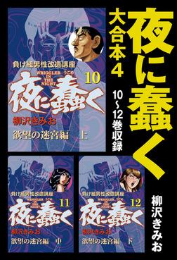 夜に蠢く 大合本4 10~12巻収録-電子書籍