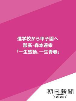 進学校から甲子園へ 郡高・森本達幸「一生感動、一生青春」-電子書籍