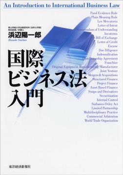 国際ビジネス法入門-電子書籍