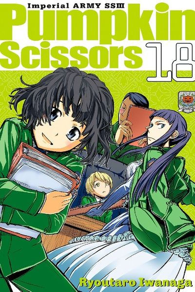 Pumpkin Scissors Volume 18