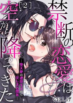 禁断の恋愛は空から降ってきた-堕天使の濃厚キスからはじまる関係- 2-電子書籍