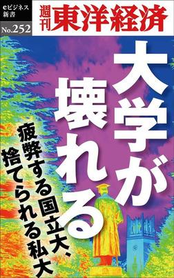 大学が壊れる―週刊東洋経済eビジネス新書No.252-電子書籍
