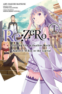 Rezero starting life in another world chapter 1 a day in the about this book fandeluxe Gallery