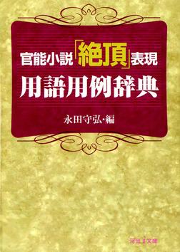官能小説「絶頂」表現用語用例辞典-電子書籍