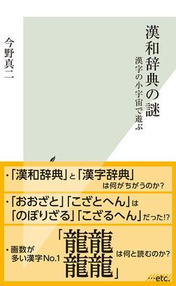 漢和辞典の謎~漢字の小宇宙で遊ぶ~-電子書籍