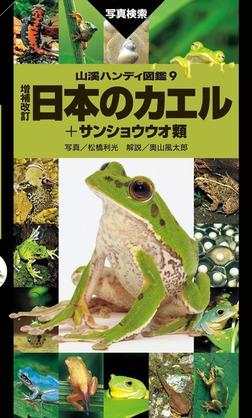 日本のカエル+サンショウウオ類 増補改訂新版-電子書籍