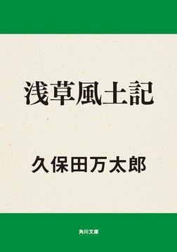 浅草風土記-電子書籍