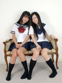 セーラー服の天使達 ときめき…清純姉妹 水谷彩也加&瑠奈Vol.2