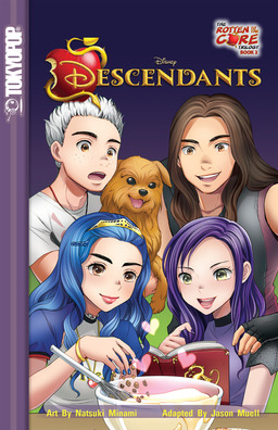 Disney Manga: Descendants - The Rotten to the Core Trilogy Book 2