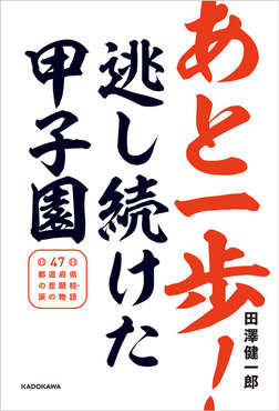 あと一歩!逃し続けた甲子園 47都道府県の悲願校・涙の物語-電子書籍