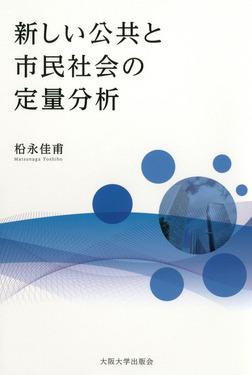新しい公共と市民社会の定量分析-電子書籍