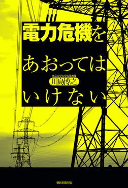 電力危機をあおってはいけない-電子書籍