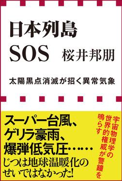 日本列島SOS 太陽黒点消滅が招く異常気象(小学館新書)-電子書籍