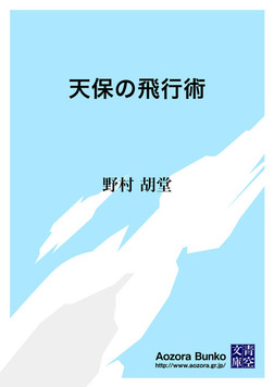 天保の飛行術-電子書籍