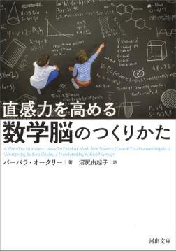 直感力を高める 数学脳のつくりかた-電子書籍