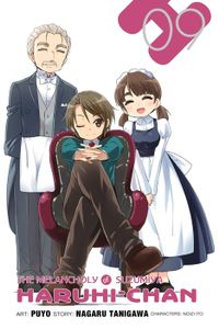 The Melancholy of Suzumiya Haruhi-chan, Vol. 9