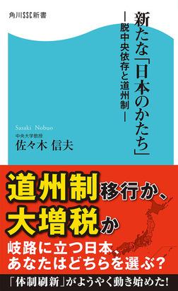 新たな「日本のかたち」 脱中央依存と道州制-電子書籍