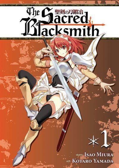 [Complete Bundle Set 20% OFF] The Sacred Blacksmith Vol. 1-10