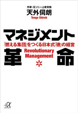マネジメント革命 「燃える集団」をつくる日本式「徳」の経営-電子書籍