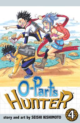 O-Parts Hunter, Vol. 4