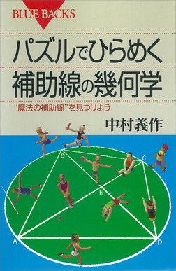 """パズルでひらめく 補助線の幾何学 """"魔法の補助線""""を見つけよう-電子書籍"""
