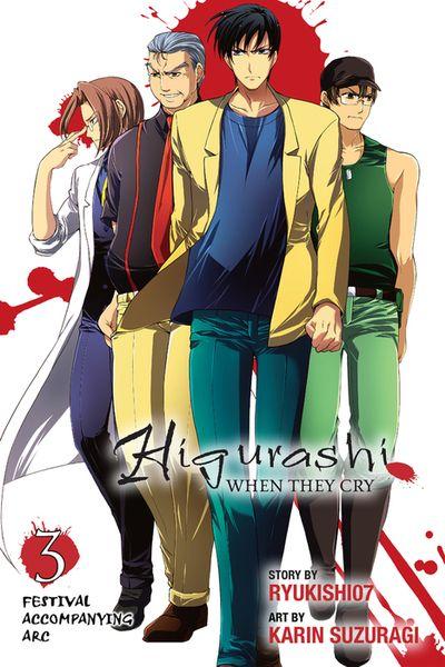 Higurashi When They Cry: Festival Accompanying Arc, Vol. 3