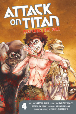 Attack on Titan: Before the Fall 4-電子書籍