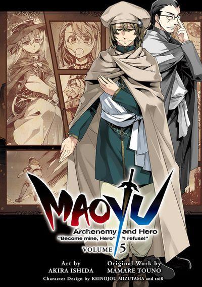 "MAOYU : Archenemy and Hero ""Become mine, Hero"" ""I refuse!"" 5"
