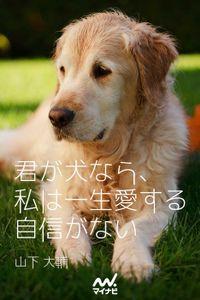 君が犬なら、私は一生愛する自信がない