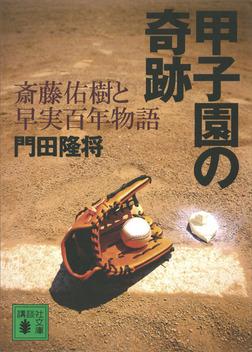 甲子園の奇跡 斎藤佑樹と早実百年物語-電子書籍