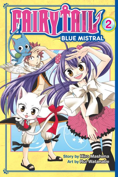 Fairy Tail Blue Mistral 2