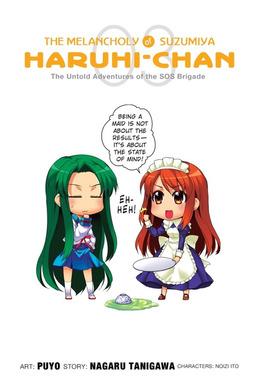 The Melancholy of Suzumiya Haruhi-chan, Vol. 3