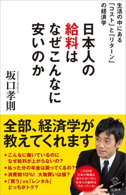 日本人の給料はなぜこんなに安いのか ~生活の中にある「コスト」と「リターン」の経済学~-電子書籍
