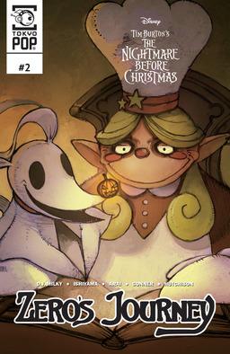 Disney Manga: Tim Burton's The Nightmare Before Christmas: Zero's Journey Issue #2