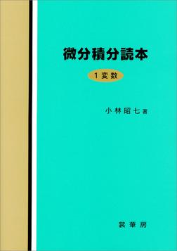微分積分読本 1変数-電子書籍