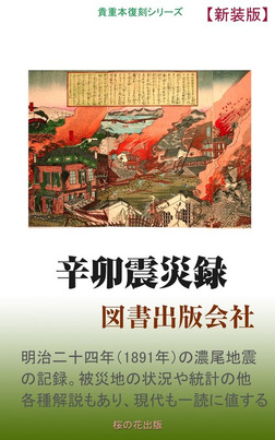 辛卯震災録-電子書籍