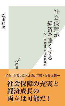 社会保障が経済を強くする~少子高齢社会の成長戦略~-電子書籍