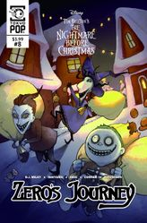 Disney Manga: Tim Burton's The Nightmare Before Christmas: Zero's Journey Issue #8